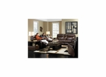 Variables Pecan Motion Living Room Set - 3pc - Catnapper