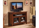 Ventura Media Console in Cheatnut Brown - Classic Flame - TC48-041-C322