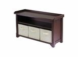 Verona Storage Bench - Winsome Trading - 94801