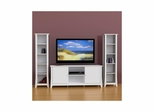 Vice Versa 58'' TV Stand with 2 Slim Bookcases - Nexera Furniture