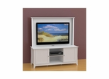 Vice Versa 58'' TV Stand with Decorative Wall Panel - Nexera Furniture