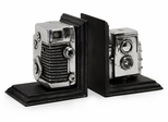 Vintage Camera Bookends - IMAX - 36133