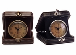 Vintage Travel Clocks (Set of 2) - IMAX - 6213-2