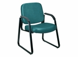 Vinyl Guest/Reception Chair - OFM - 403-VAM