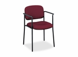 Visitor Chair With Arms - Burgundy - BSXVL616VA62