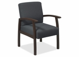 Visitor Chairs - Expresso/Charcoal - LLR68555