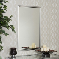 Vogue Chrome Wall Mirror - Holly and Martin