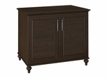 "Volcano Dusk 34"" 2 Door Storage Cabinet in Kona Coast - Kathy Ireland"