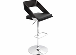Vuno Wenge Black Barstool - Lumisource