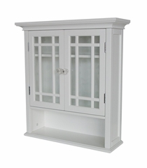 Wall Cabinet with 2 Doors and 1 Shelf - Neal - 7473
