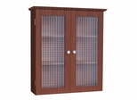Wall Cabinet with Two Glass Doors - Chesterfield - 6209