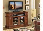 Waverly Media Console in Premium Pecan - Classic Flame - TC60-053-C239
