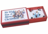 We Wish You a Merry Christmas Matchbox Music Box - Crosley - BK334