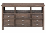 """Weathered Grey 60"""" TV Stand - 067-60"""