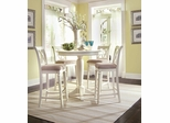 White Camden Bar Table Set - Lea American Drew - CAMDENWSET4