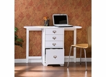 White Fold-Out Organizer and Craft Desk - Holly and Martin