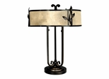 White Mica Table Lamp - Dale Tiffany