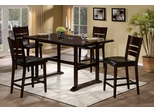 Whitfield 5-Piece Counter Height Dining Set - Hillsdale Furniture - 4584CTBS