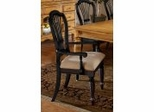 Wilshire Arm Chair in Rubbed Black (Set of 2) - Hillsdale Furniture - 4509-805