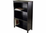 Winsome Terrace Storage Shelf 4-Tier in Espresso Finish