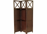 Winsome Wood Bergen Three-Panel Room Screen
