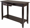 Winsome Wood Nolan Console Table with Drawer