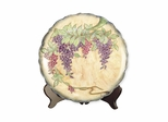 Wisteria Porcelain Charger - Dale Tiffany