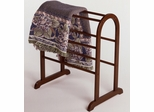 Wood Blanket Rack Stand - Winsome Trading - 94326