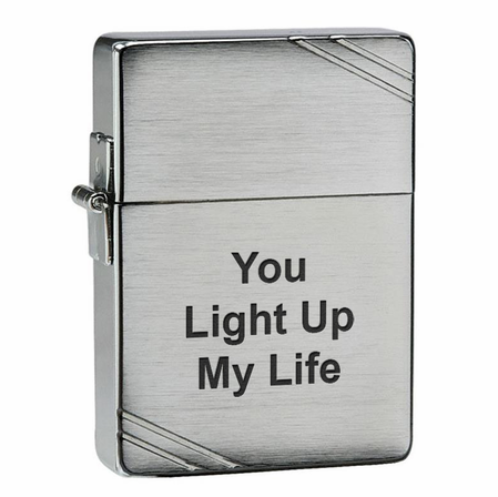 1935 Replica Zippo Lighter With Slashes
