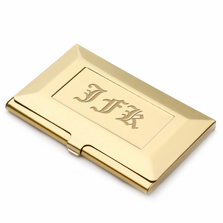 Brass frame style engraved business card holder executive gift shoppe brass frame style engraved business card holder colourmoves