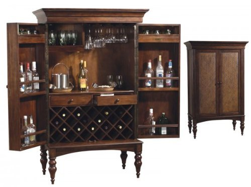 Cherry Hill Wine Bar Cabinet By Howard Miller Executive Gift Shoppe