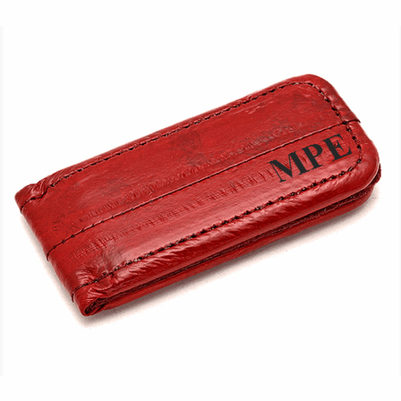 Eel Skin Magnetic Money Clip