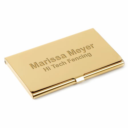 Engraved polished brass business card case executive gift shoppe engraved brass business card case colourmoves Images