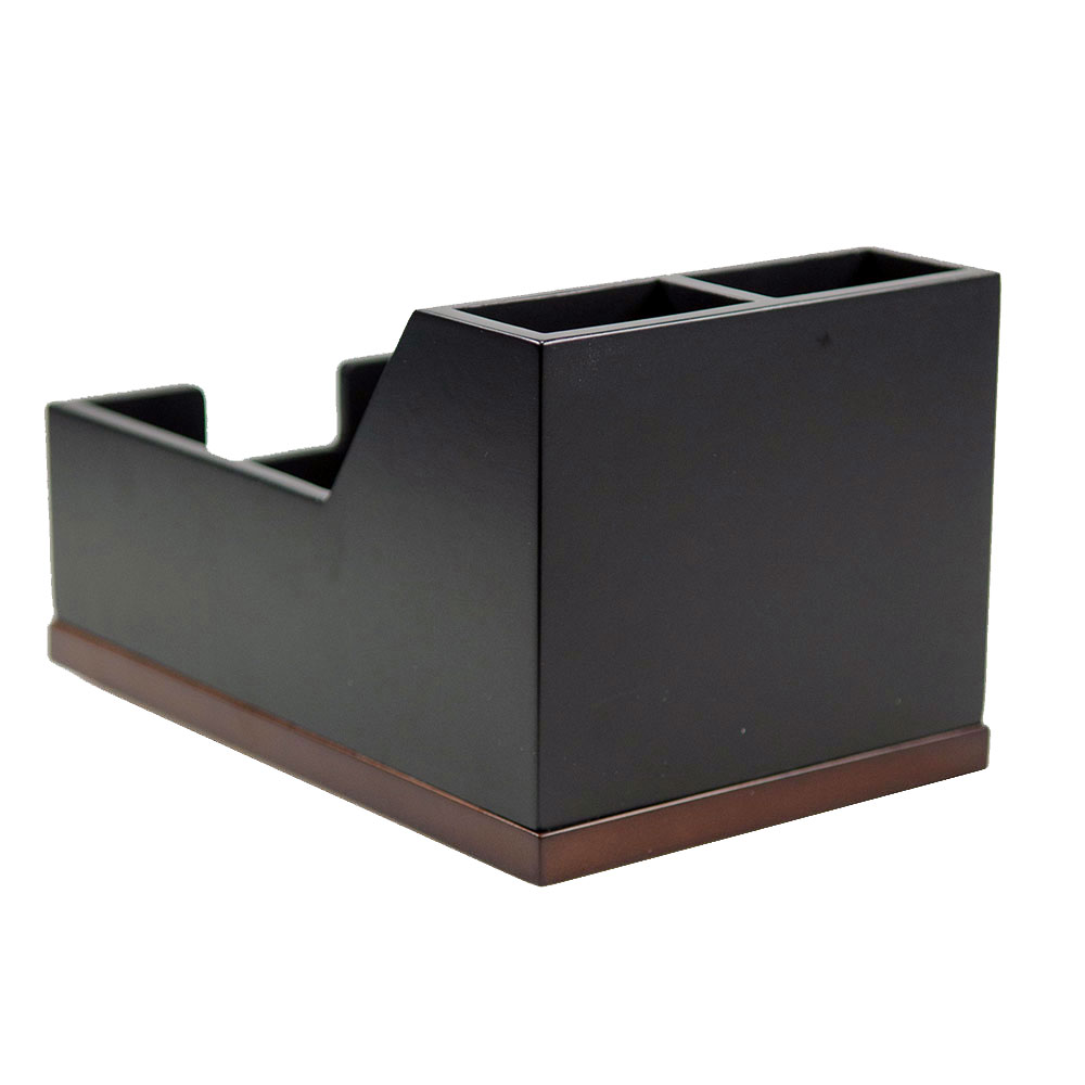 Executive Wooden Pen And Notepad Holder Executive Gift