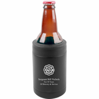 Firefighter's Shield Personalized Insulated Can & Bottle Holder