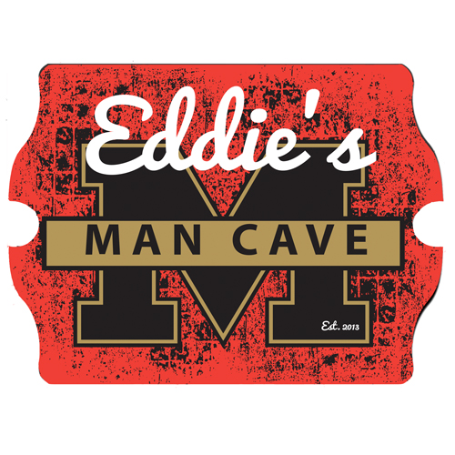 Man Cave Vintage Signs : Man cave university vintage pub sign free