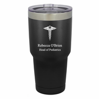 Medical Emblem Personalized 30 Ounce Tumbler