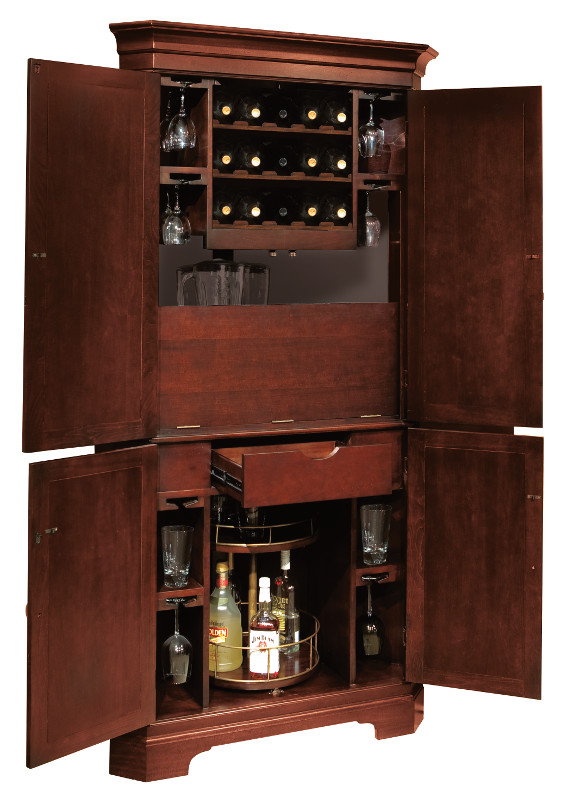 Man Cave Store Norcross : Norcross wine bar cabinet by howard miller executive