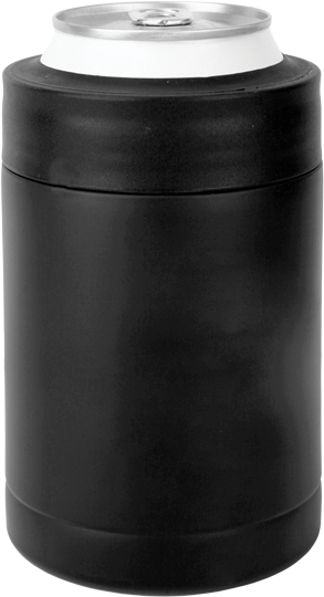 Personalized Black Insulated Can Amp Bottle Holder