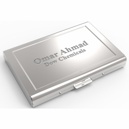 Polished steel engraved business card casefile executive gift shoppe polished steel engraved business card casefile reheart Image collections
