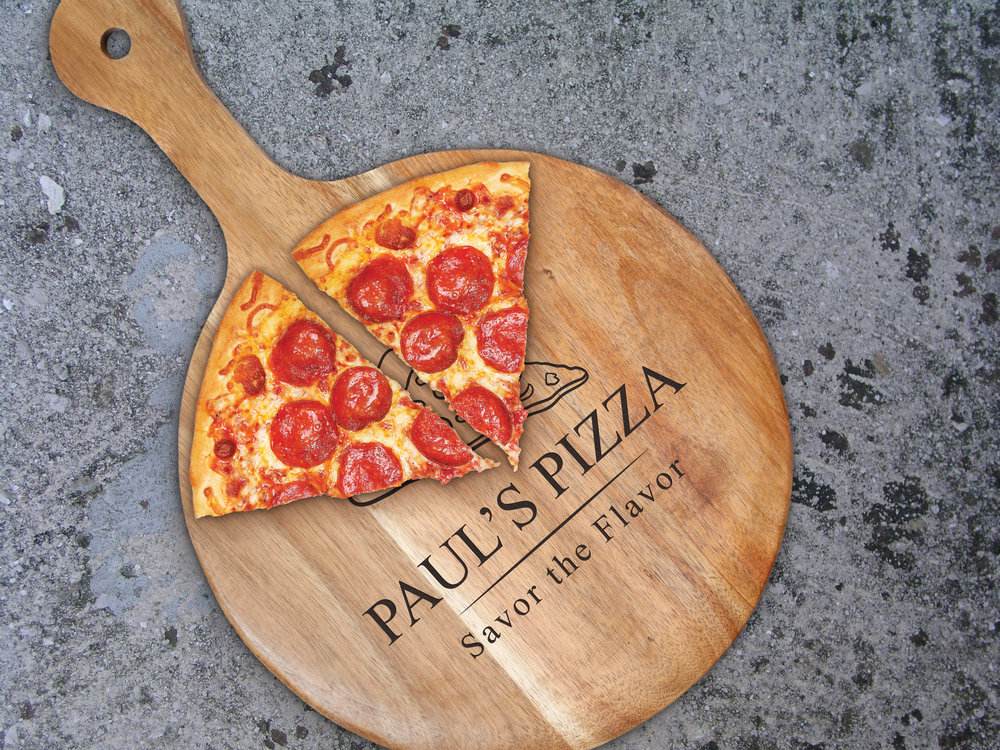 savor the flavor 12 u0026quot  pizza paddle