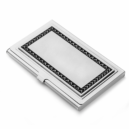 The Outback Stainless Steel Business Card Case