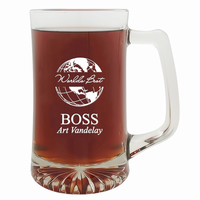 World's Best Boss 25 Ounce Beer Mug