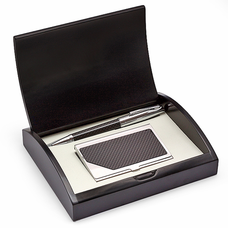 World's Best Boss  Pen and Card Case Gift Set - Free Personalization
