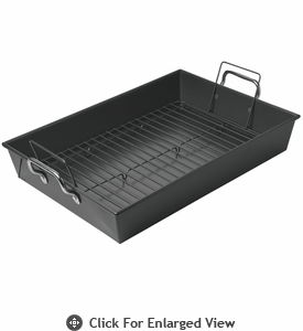 Chicago Metallic™ Non-Stick Extra Large Roaster with Stainless Steel Handles and Rack