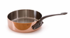 Mauviel M'heritage Copper Saute; Pan 3.2 Qt. (24 cm) Cast Iron Handle
