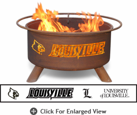 Patina Products University of Louisville Cardinals Fire Pit