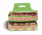 Picnic Plus  Entertainer Hot & Cold Food Carrier   Green Gazebo