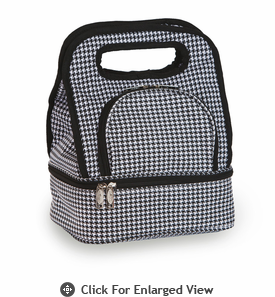 Picnic Plus Savoy Lunch Bag Houndstooth