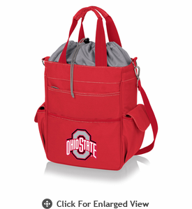 Picnic Time Activo Cooler Tote  Ohio State Buckeyes Red
